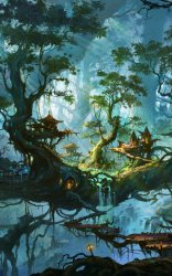 Fantasy/Forest 1600x2560 Wallpaper ID: 887993 Mobile Abyss