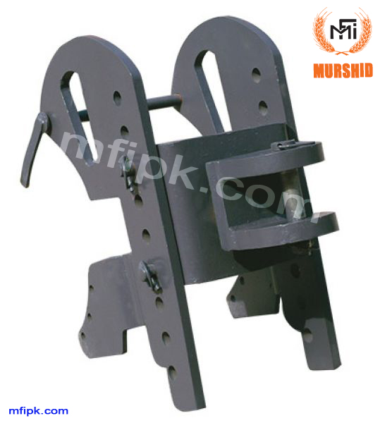 Adjustable pintle hook