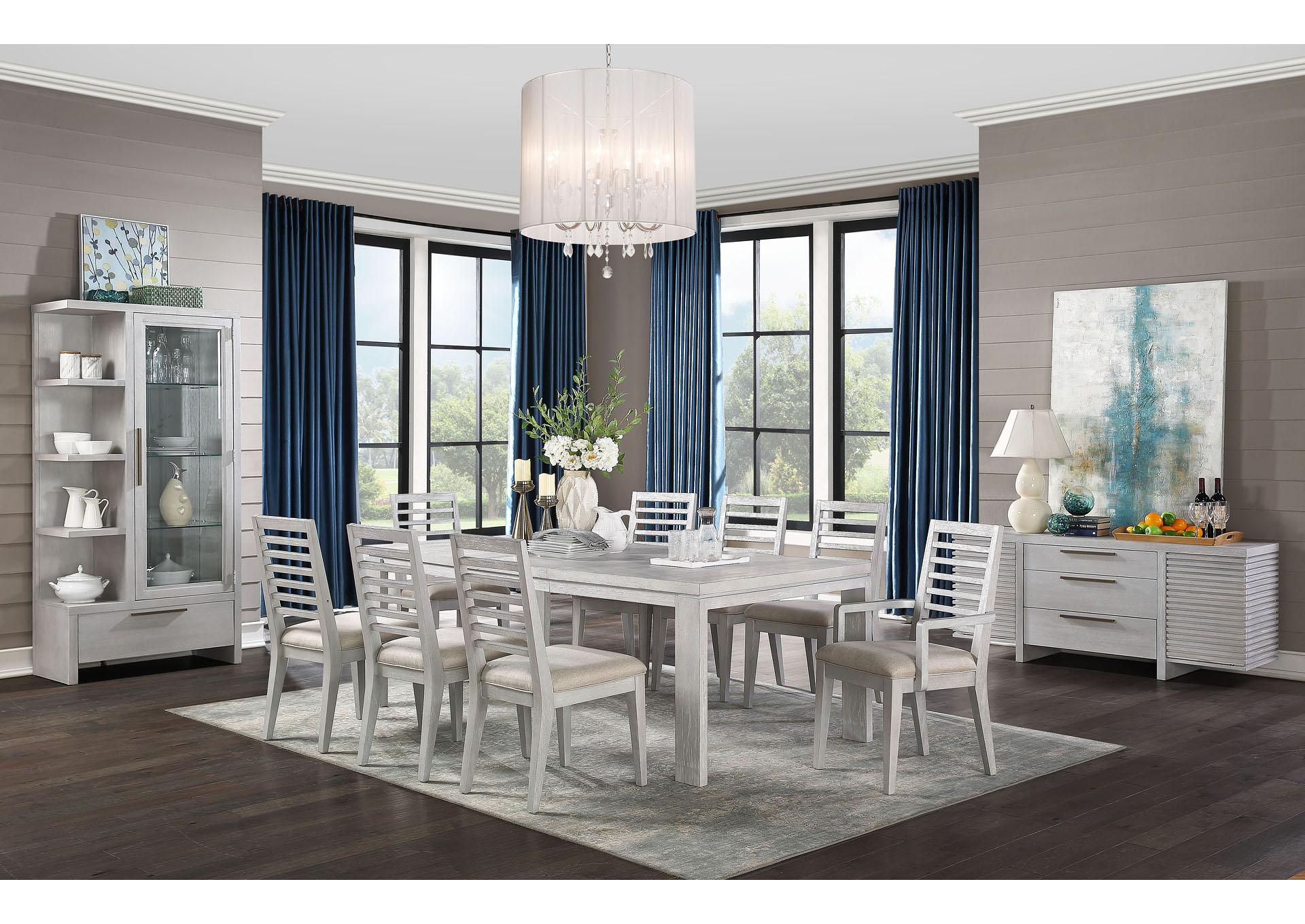 aromas white oak curio home gallery furniture store philadelphia pa