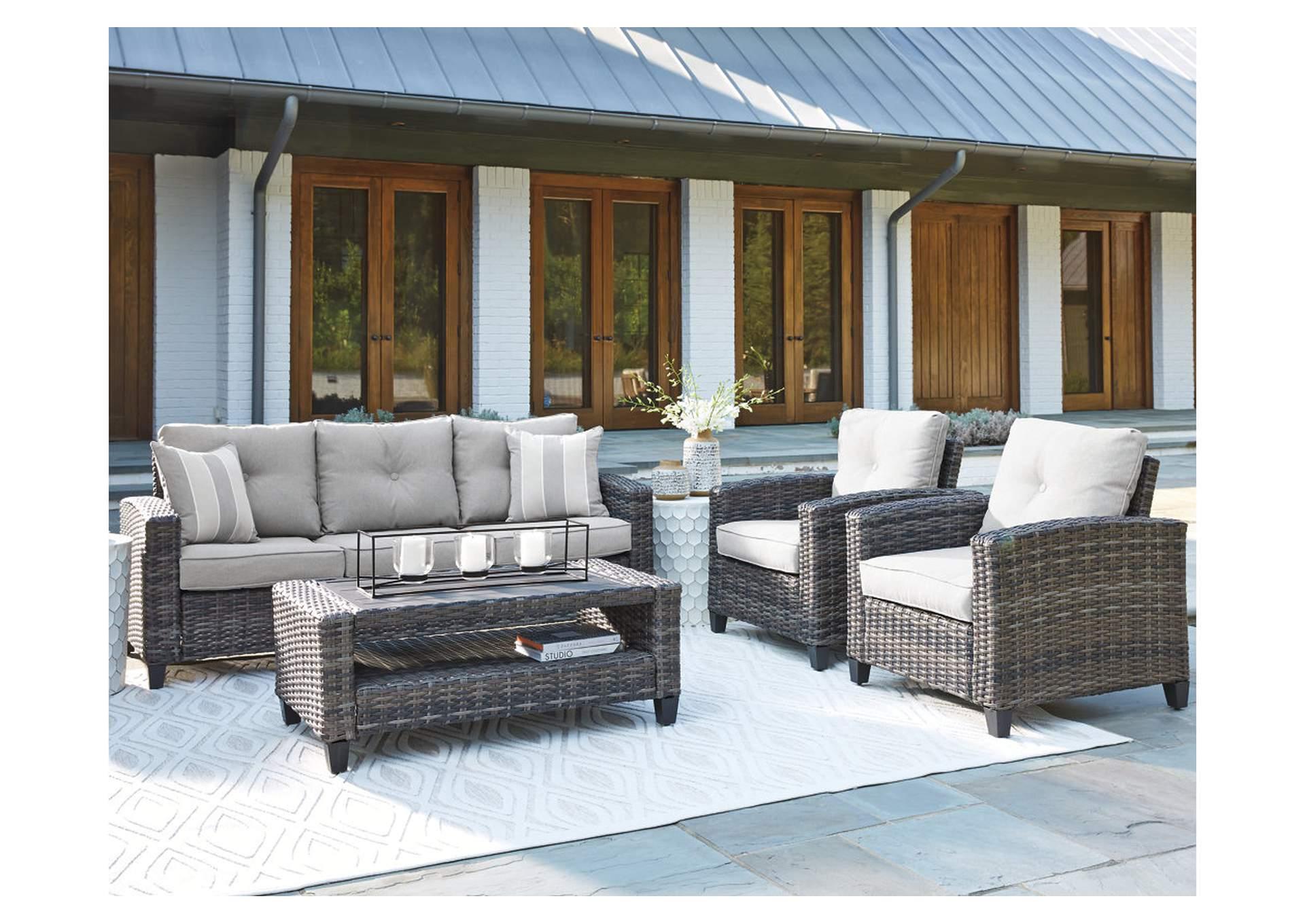 cloverbrooke gray 4 piece outdoor