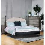 Sinead Gun Metal California King Upholstered Poster Bed Foothills Family Furniture