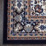 Home Dynamix Premium Sakarya Traditional Area Rug 21 X35 Medallion Navy Blue Brown Ivory Renaissance Philadelphia Pa