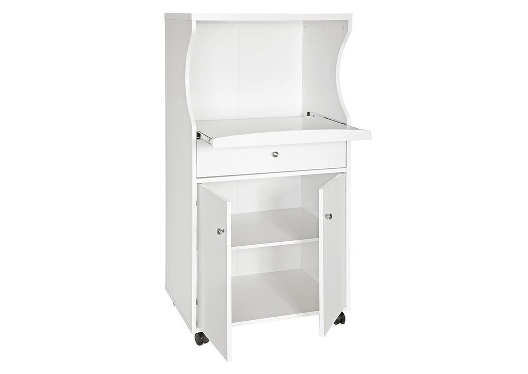 white microwave stand bob s discount house