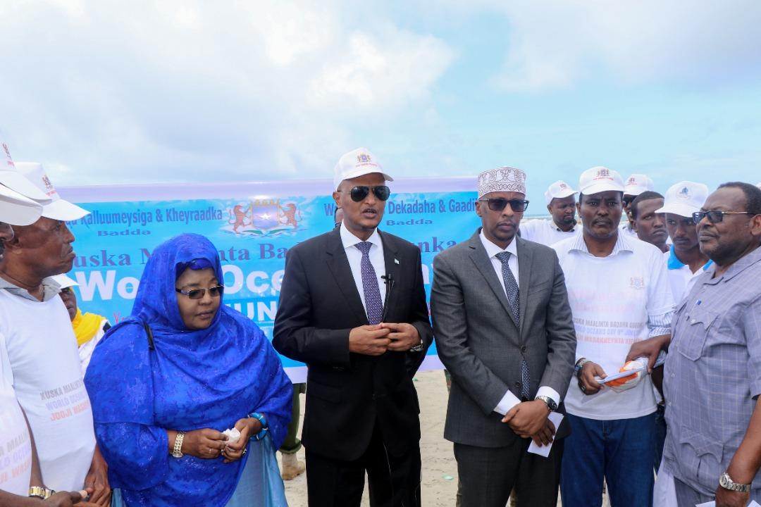 Photo: Wasaaradda Kalluumeysiga oo Xustay Maalinta Badaha Adduunka + Sawirro