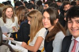 Délégés durant la cérémonie d'ouverture