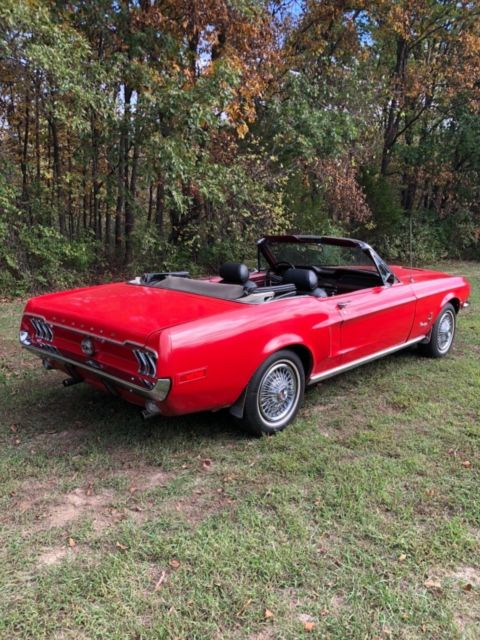1968 Mustang Convertible Restoration Harnessing The Power