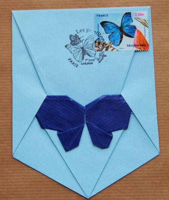 Butterfly on pentalope de Michel Grand