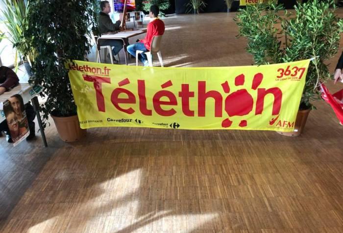 AFM-TELETHON Soutien de la MFR CHATEAUBRIANT