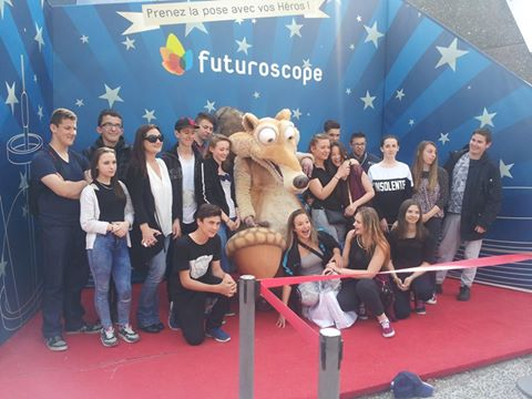 MFR 44 CHATEAUBRIANT au Futuroscope