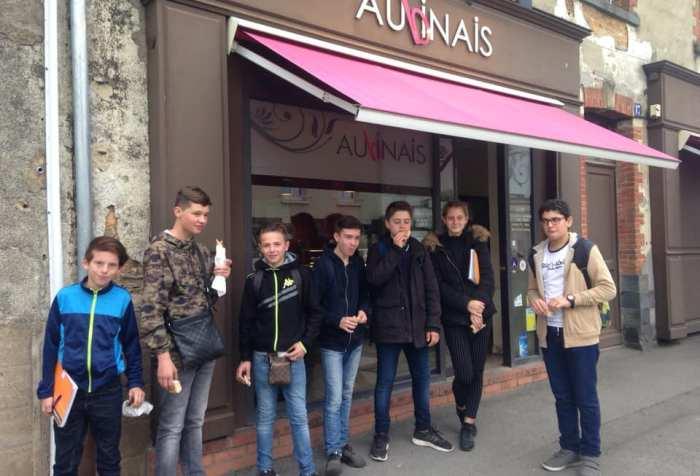 Visite 4eme Boulangerie MFR CHATEAUBRIANT