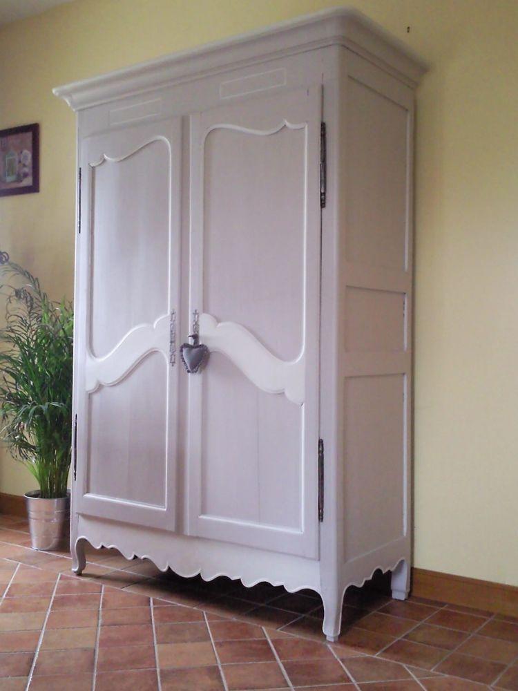 charming armoire peinte en gris 1 armoire designe armoire ancienne peinte