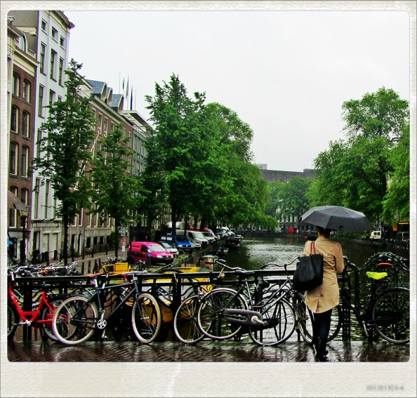 brought the rain to amsterdam