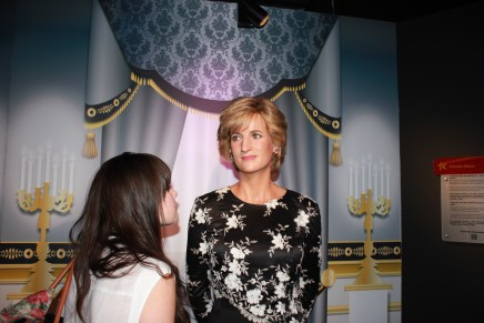 princess diana at madame tousseaus wax museum