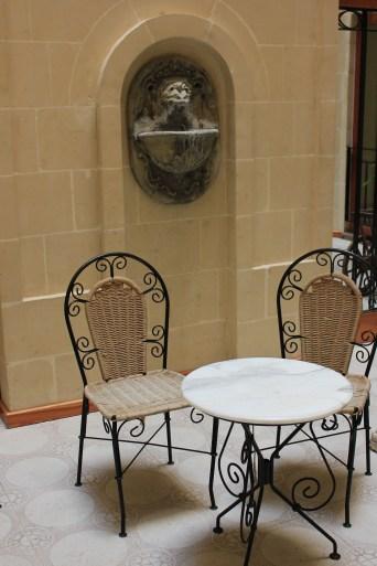 hotel cafe - gozo