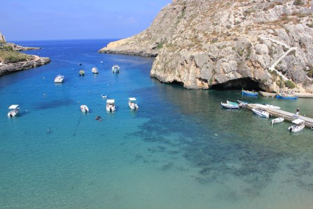 View from hotel in Gozo
