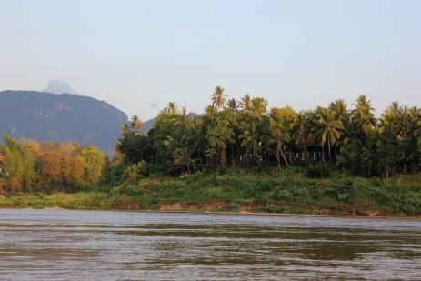 boat ride in luang prabang