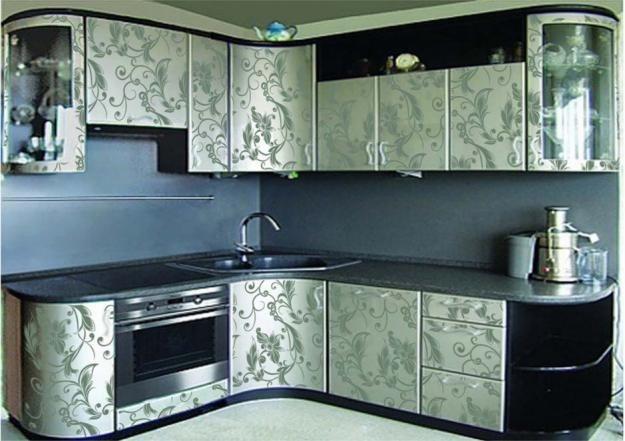 Самоклеящаяся пленка обновить кухонный гарнитур