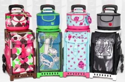 Детские и спортивные сумки на колесиках ZUCA