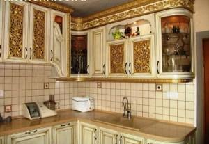 обновить кухонный гарнитур Молдинг и декорирование