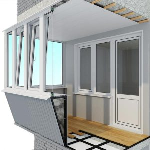 остекление балконов в киеве Алиас. Фото