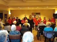 Parkland Seniors residence concert