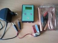 Пълният комплект при закупуване (батерийката от 9V не е включена)