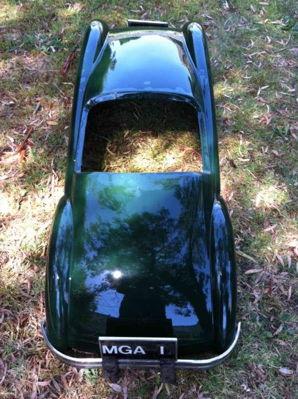 MGA regalia  Fiberglass 12 Scale Body Shell