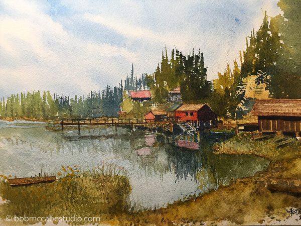 Meyer's Chuck Cove, Alaska