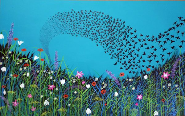 Flowers and Flock