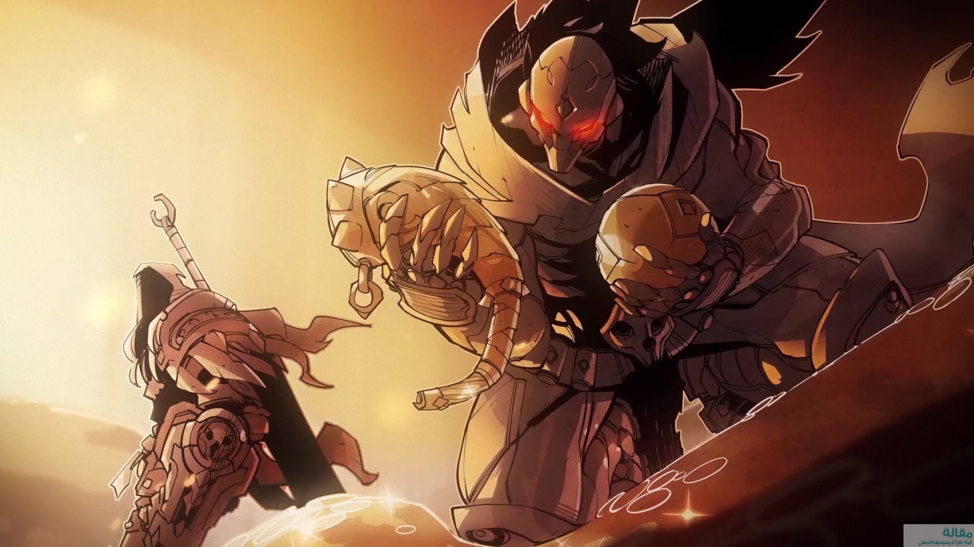 مراجعة لعبة Darksiders: Genesis