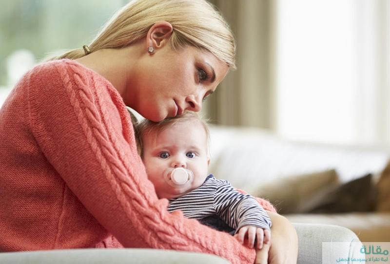 مخاطر مرحلة اكتئاب ما بعد الولادة