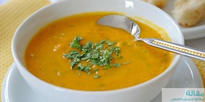 طريقة عمل حساء العدس المجروش