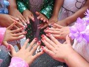 nail art party mga muni-muni
