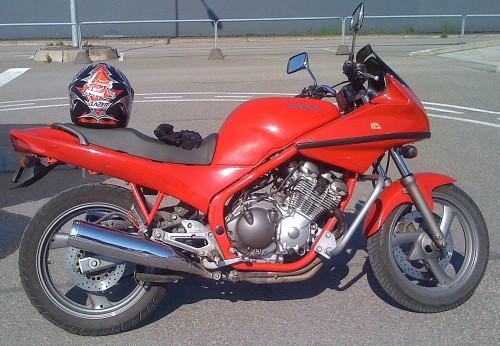 А категория мотоцикл