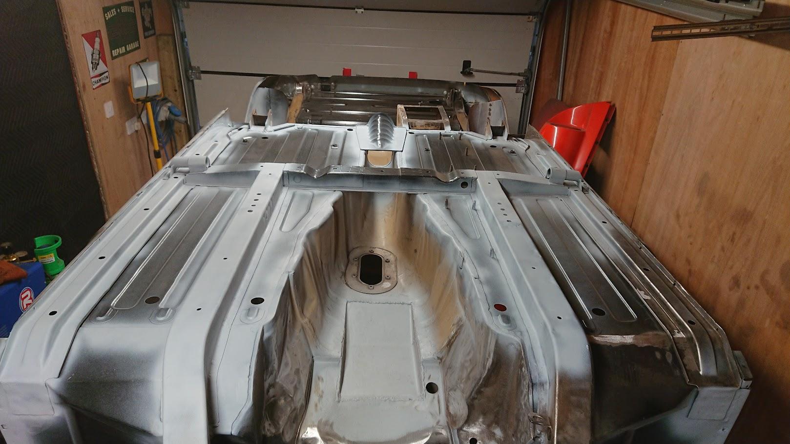 Final underbody welding