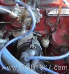 1967 mgb gt 18gb engine distributor [ 1200 x 801 Pixel ]