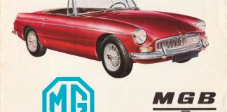 MGB Brochure 1966 or 1967