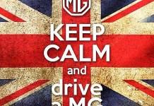 KEEP CALM and drive a MG