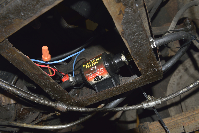 New Fuel Pump For The 1967 MGB GT 1967 MGB GT