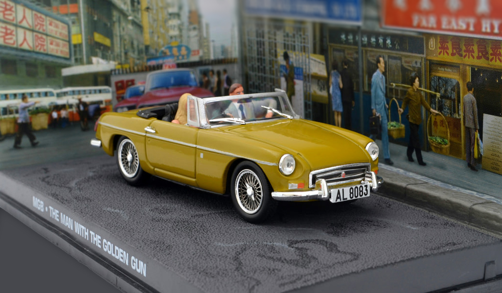 """The Man with the Golden Gun"" MG MGB Roadster"