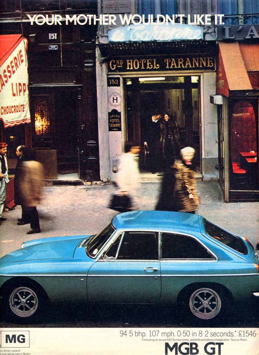 Cars For Sale Bay Area >> Your Mother Wouldn't Like It – Hotel Taranne, Paris | 1967 ...