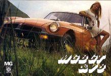 MG MGB GT brochure