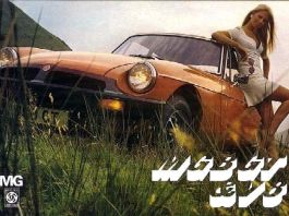 MG MGB GT brochure