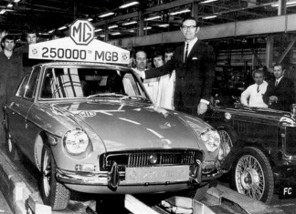 250,000 MG MGB is a GT, very cool.