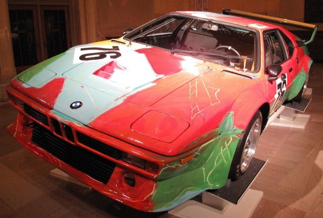 Andy Warhol 1979 BMW Group 4 M1