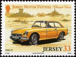 Jersey Post Classic Cars 2005 MGB GT