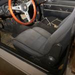 1991 Mazda Miata seats temporarily installed in my 1967 MGB GT