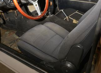 1991 Mazda Miata seats temporarily installed in my 1967 MGB GT