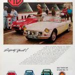 1964 MGB Original advert