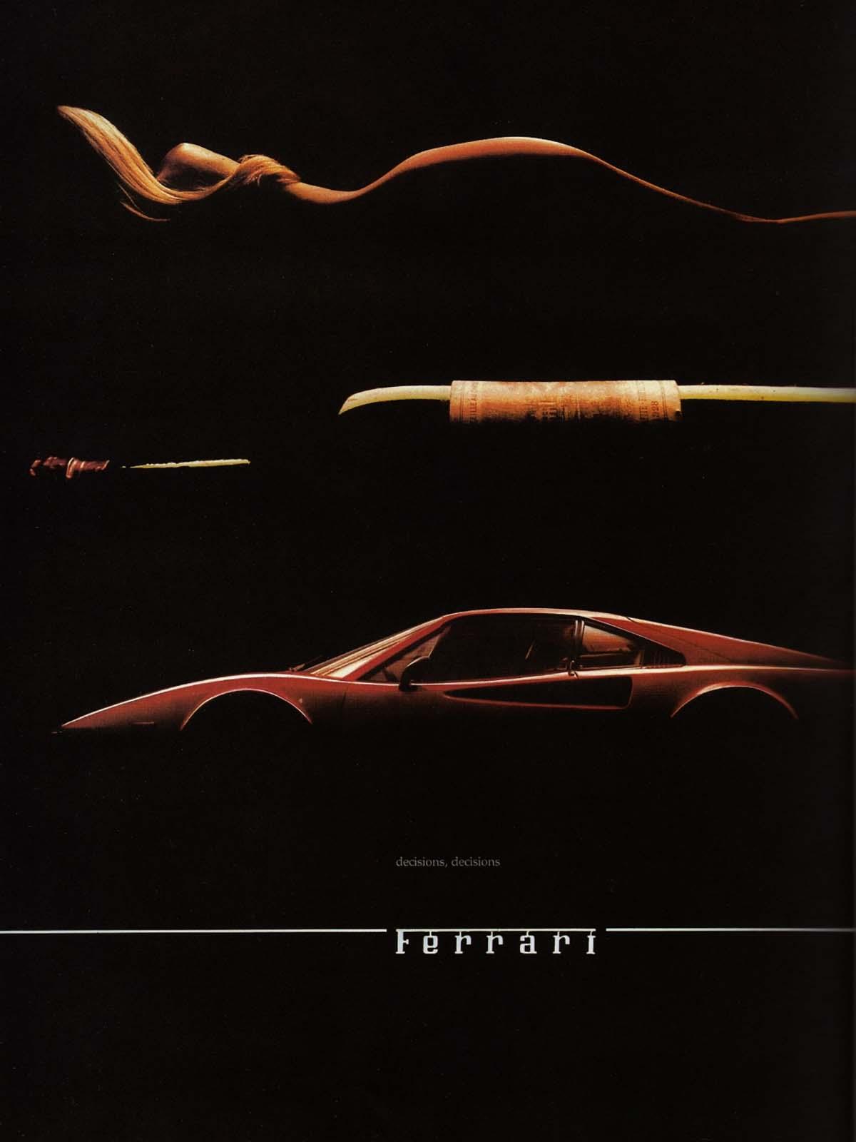 Ferrari decisions decisions